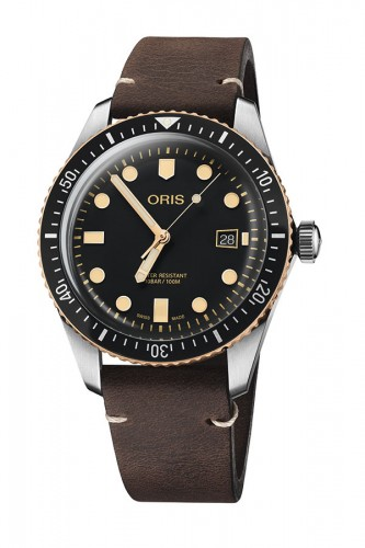 detail Oris Divers Sixty-Five 01 733 7720 4354-07 5 21 44