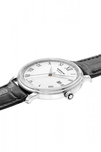 detail Montblanc Tradition Date Automatic 112609