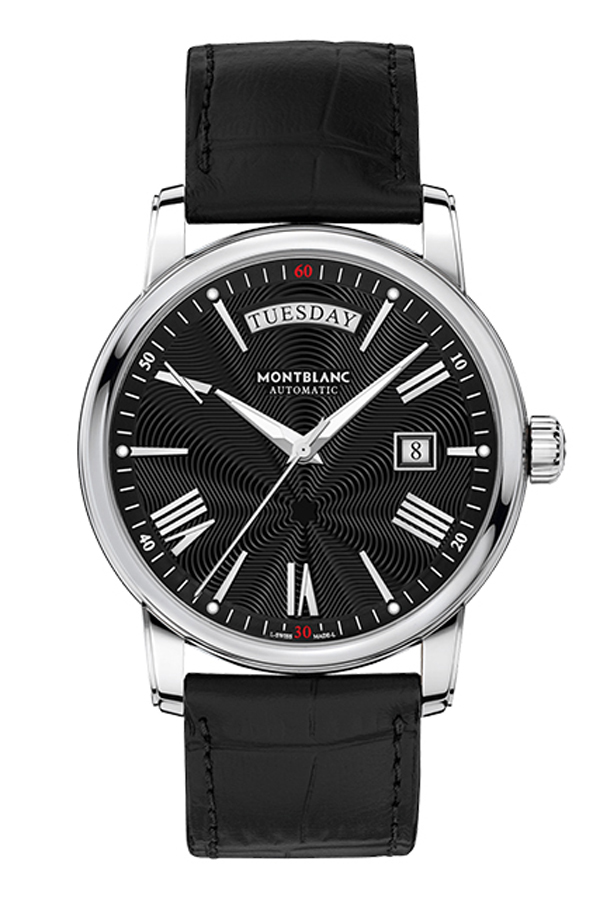 detail Montblanc 4810 Day Date 115936