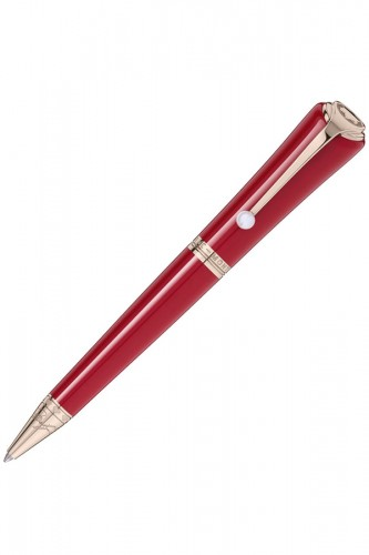 detail Montblanc Montblanc Muses Marilyn Monroe Special Edition Red 116068