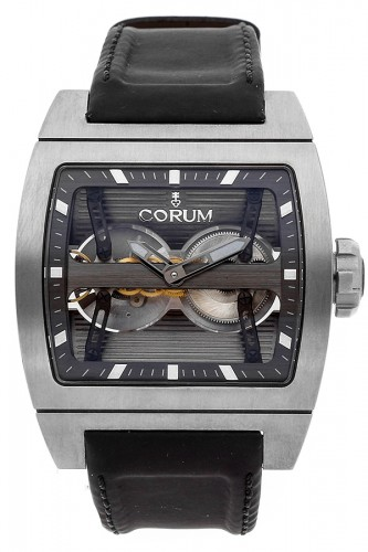 detail Corum Ti-Bridge Dual Winder 207.201.04/0F61 0000