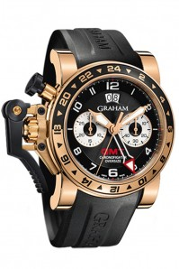 Graham Chronofighter Oversize GMT Black 20VGR.B21A