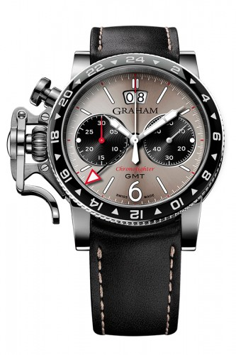 detail Graham Chronofighter Vintage GMT 2CVBC.S07A