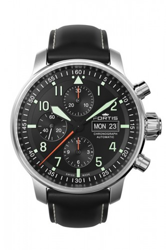 detail Fortis Aviatis Flieger Professional Chronograph 705.21.11 LF