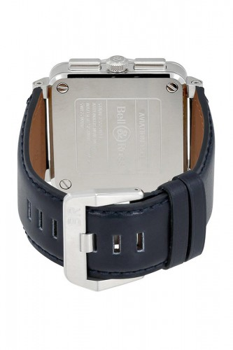 detail Bell & Ross Blue Steel BR0394-BLU-ST/SCA