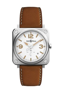 Bell & Ross BR S STEEL HERITAGE W BRS-WHERI-ST/SCA