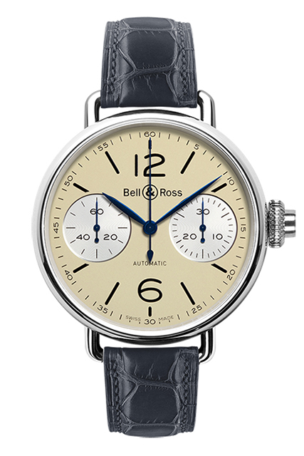 Bell & Ross Chronographe Monopoussior Ivory BRWW1-MONO-IVO/SCR