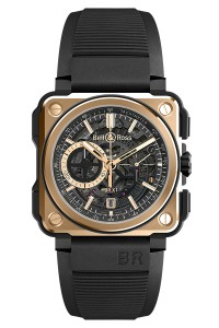 Bell & Ross Rose Gold & Ceramic BRX1-CE-PG
