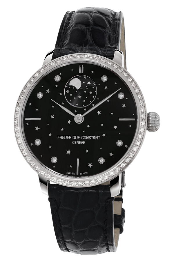 detail Frederique Constant Moonphase Stars Manufacture FC-701BSD3SD6