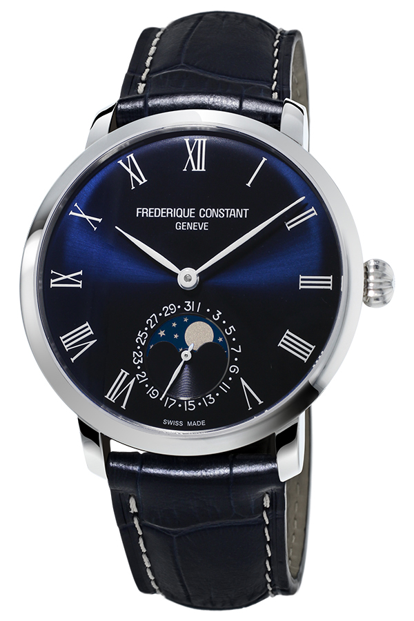 Frederique Constant Slimline Moonphase Manufacture FC-705NR4S6