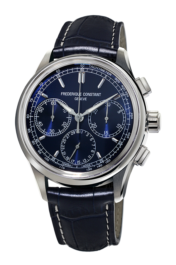 detail Frederique Constant Flyback Chronograph Manufacture FC-760N4H6