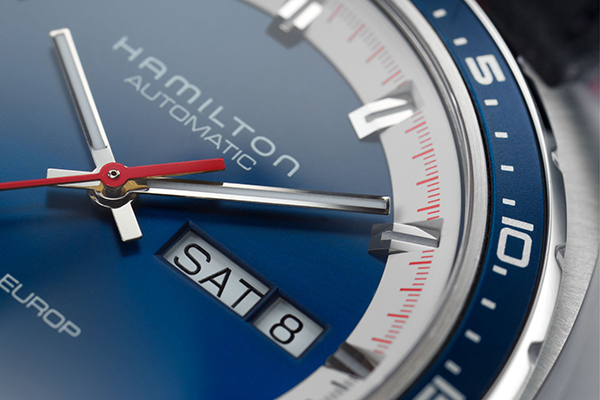 detail Hamilton American Classic Pan Europ Day Date Automatic H35405741
