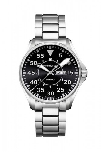 detail Hamilton Khaki Aviation Day Date Quartz H64611135