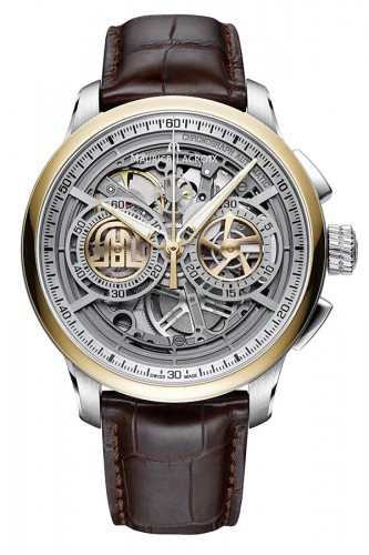 detail Maurice Lacroix Masterpiece Chronograph Skeleton MP6028-PS101-001-1