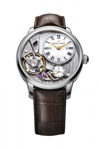 detail Maurice Lacroix Masterpiece Gravity 43mm MP6118-SS001-112-2