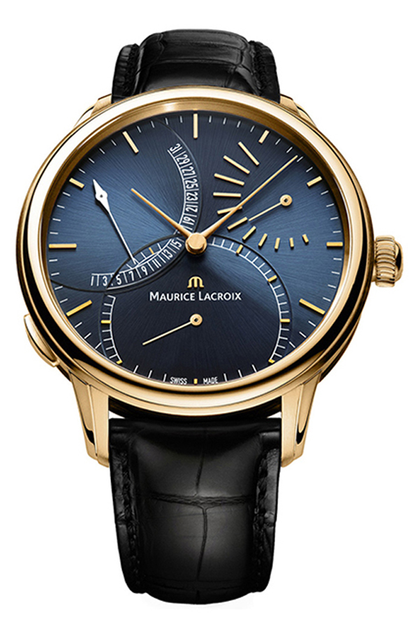 Maurice Lacroix Masterpiece Calendar Retrograde MP6509-PG101-430