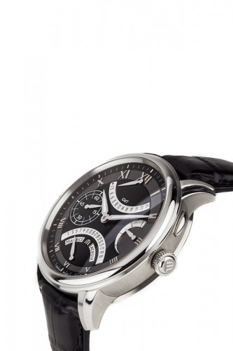 detail Maurice Lacroix Masterpiece Double Retrograde MP7218-SS001-310