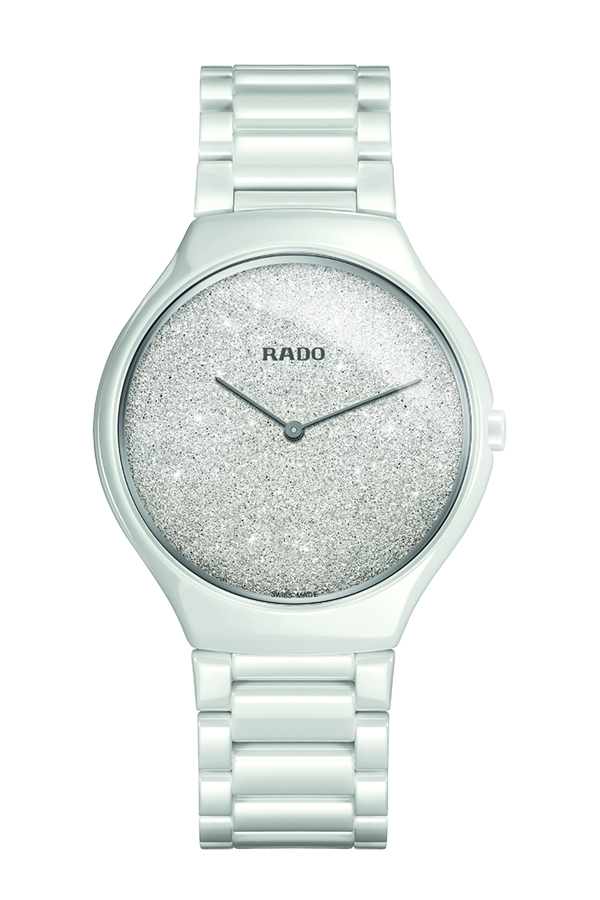 detail Rado True Thinline Quartz R27007092