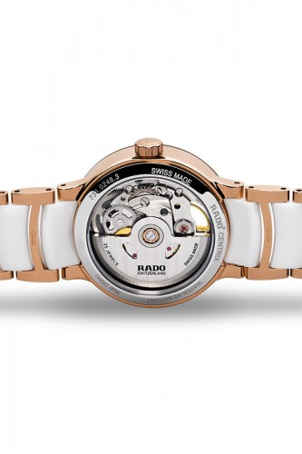 detail Rado Centix Ladies Automatic Open Heart Diamonds R30248902