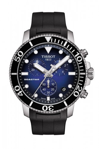 detail Tissot Seastar 100 Quartz T120.417.17.041.00