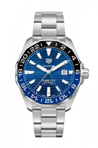 detail Tag Heuer Aquaracer GMT WAY201T.BA0927
